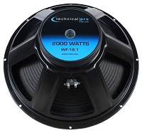 Technical Pro WF18.1 Woofer
