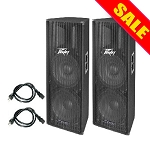 Peavey PV215D Package (2 speakers)