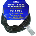 MI Tee PC-14/50  BLACK A.C. extension