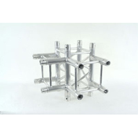 Pro DJ Truss SQ-4128 4-Way Corner Junction