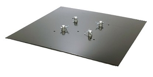Pro DJ Base Plate 3.3S 3 Ft. x 3 Ft. Steel Base Plate