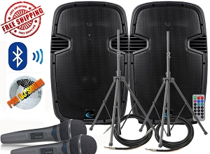 Technical Pro PW1600 Bluetooth Speaker System Package