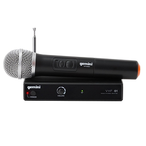 Gemini VHF 01M Wireless Mic Sstem
