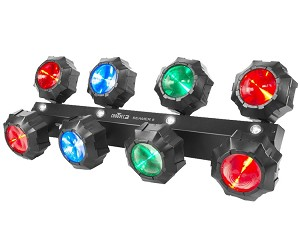 Chauvet DJ Beamer 8 RGB 2-In-1 LED Strobe & Effect Light
