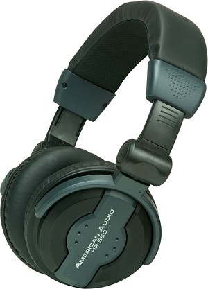 American Audio HP550 Professional Headphones-Black