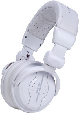 American Audio HP550 Professional Headphones-Snow