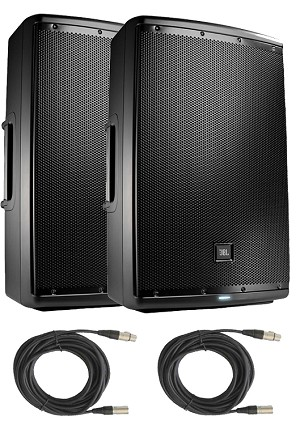 JBL Eon 615 Package with cables