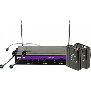 Gemini VHF-2001HL : Dual Channel Wireless System